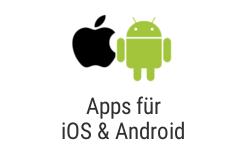 Erstellung von modernen und individuellen Mobile Apps.