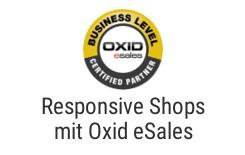 Schlüsselfertige Responsive Oxid eSales Shops, Templateentwicklung und Modulentwicklung.